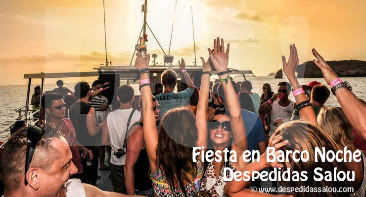 Fiestas en Barco Catamaran Noche Cambrils