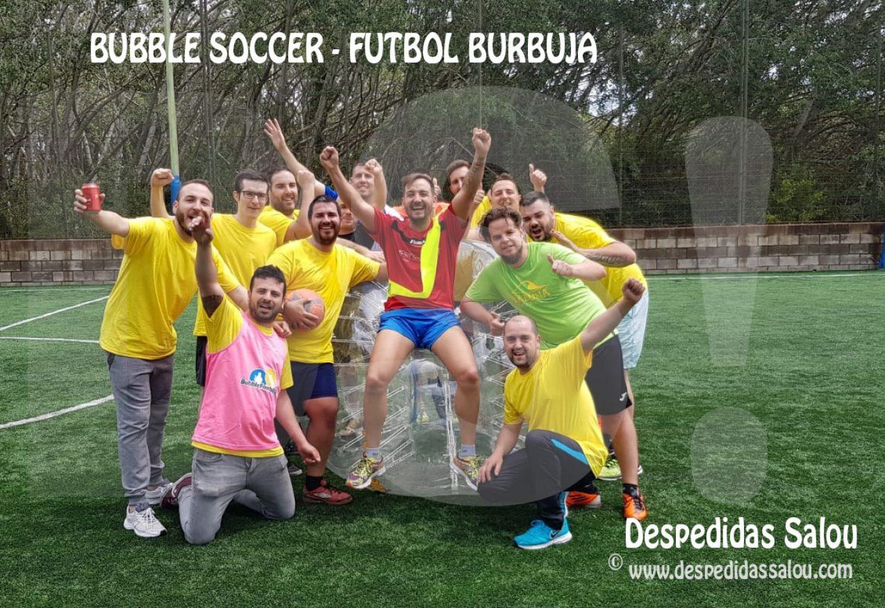 Despedida-Bubble-Soccer-Cambrils